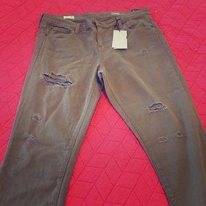 Gap Destroyed Girlfriend Jeans