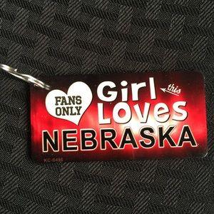NCAA Accessories - Nebraska Cornhuskers Keychain