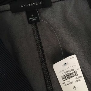 Ann Taylor Pants - NEW Ann Taylor black faux leather leggings pants 4