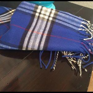 Burberry look a like scarf