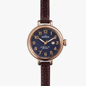 Shinola Accessories - Shinola Birdy 34 MM Wrap Watch