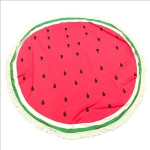Other - Watermelon circle towel 🍉