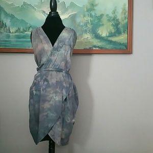 Alternative Dresses & Skirts - Tulip hem tie dyed dress
