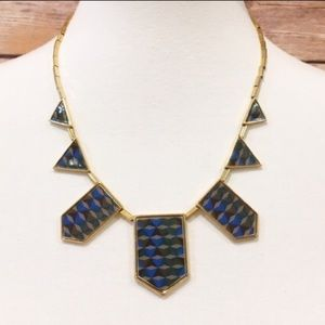 ASOS Jewelry - House of Harlow 1960 Blue 5 Station Necklace ✨