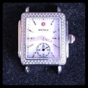 michele Accessories - Michele Deco with Diamond Bezel