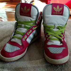 Adidas Shoes - Adidas High tops