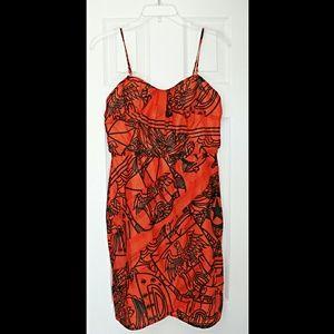 💣Aryn K.💣Silk dress for Anthro