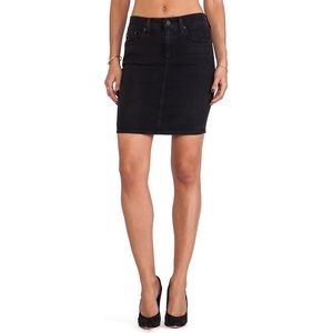 AG Adriano Goldschmied Dresses & Skirts - AG 'The Erin' Black Denim Skirt