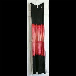 NWOT💋Super Soft💋tie dye maxi dress