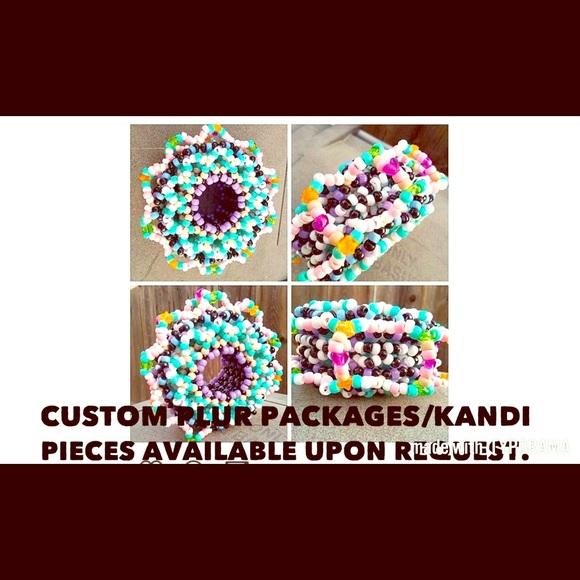 4d83c3c94c797 Custom made Kandi pieces made to order- Rave Kandi
