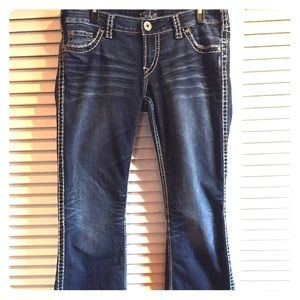 silver jeans flare jeans on Poshmark