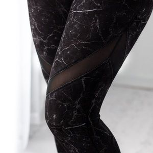 Pants - MarbleMesh Workout Capri *LAST!