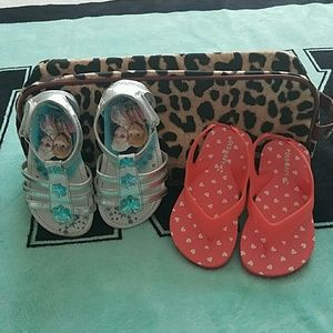 Disney and Old Navy Other - 2 pairs of girl toddler shoes