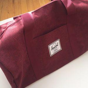 Bags - Brand new Hershel Duffle Bag