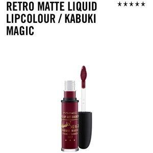 MAC kabuki magic liquid lipcolour