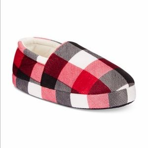 Boys or girls plaid slippers
