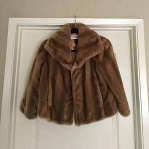 Panache Jackets & Blazers - Panache faux fur coat, size small