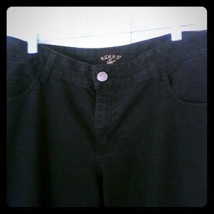 Lee Riders Black Stretch Jeans 16W Womans Plus