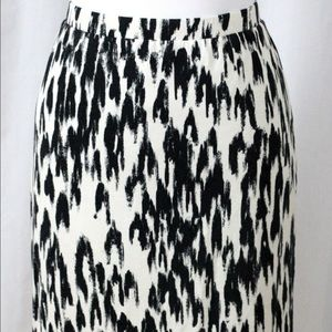 Ann Taylor Print Skirt