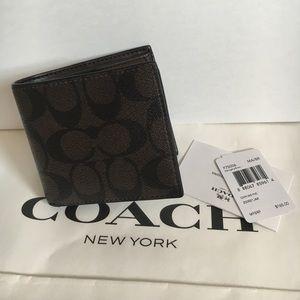 Coach Handbags - 🍥men coach wallet brown