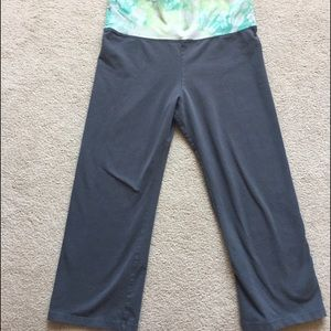 Cropped Yoga/Workout Pants