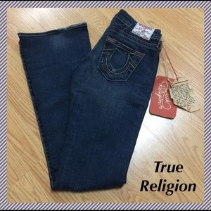 "True Religion Denim - NWT True Religion Bobby jeans - 26 x 33.25"""