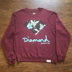 Diamond Supply Co. Other - Floral Diamond Supply Co. Crewneck