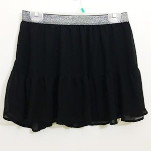 H&M Dresses & Skirts - New H&M black chiffon circle skirt
