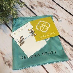 Kendra Scott Jewelry - KENDRA SCOTT Modern Gold Earrings