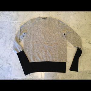 Vince Sweaters - Vince Cashmere Colorblock Sweater