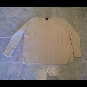 Vince Sweaters - VINCE Cream Dolman Sleeve Sweater