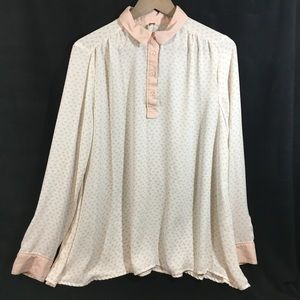 Free people button-down blouse
