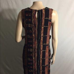Sag Harbor Dresses & Skirts - Sag Harbor petite Multi earth tone color dress