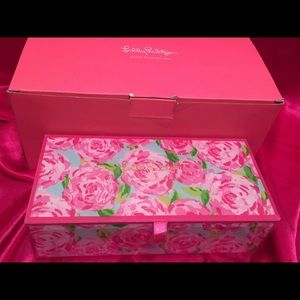 Lilly Pulitzer Other - 🔥🔥🔥Lilly Pulitzer Box Hotty Pink HPFI Jewelry