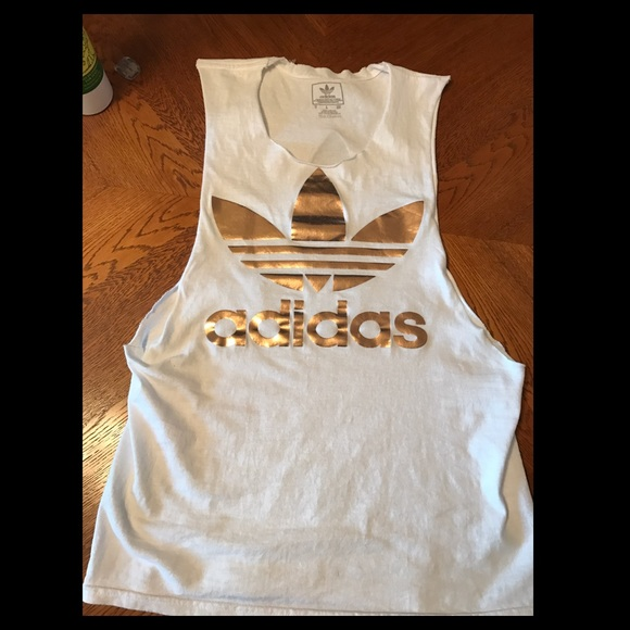 adidas rose gold dress