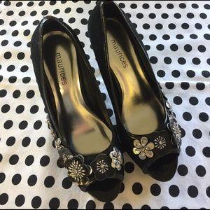 Maurices Shoes - Beautiful Maurice's peep toe heels.