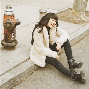 Urban Outfitters Jackets & Blazers - Urban Outfitters Fuzzy Teddy Bear Coat