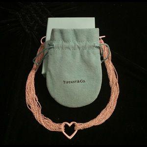 Tiffany & Co. Jewelry - Tiffany multi strand choker necklace.