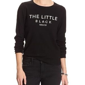 """The Little Black Sweater"""