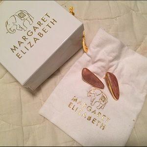 Margaret Elizabeth Jewelry - Margaret Elizabeth Persephone Pink Opal Earrings