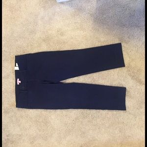 Lilly Pulitzer Pants - Lilly Pulitzer navy travel pant capris size 10