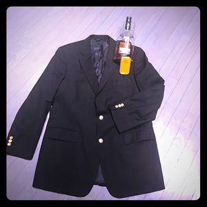 Brooks Brothers Other - Brooks Brothers BrooksEase navy 💯 wool blazer EUC