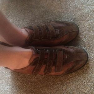 Paul Green Shoes - Paul Green leather athletic shoes