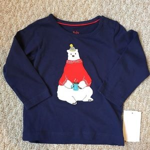Mini Boden Other - Boden bear shirt