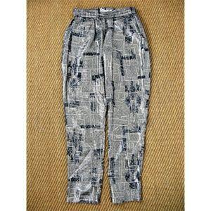 Isabel Marant pour H&M Pants - Isabel Marant Pour H&M Silk Metallic Pants M