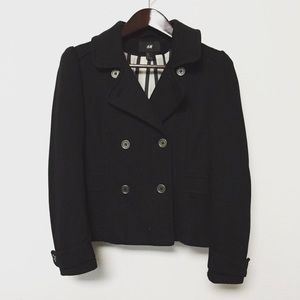 H&M Jackets & Blazers - Double Breasted Jersey Coat