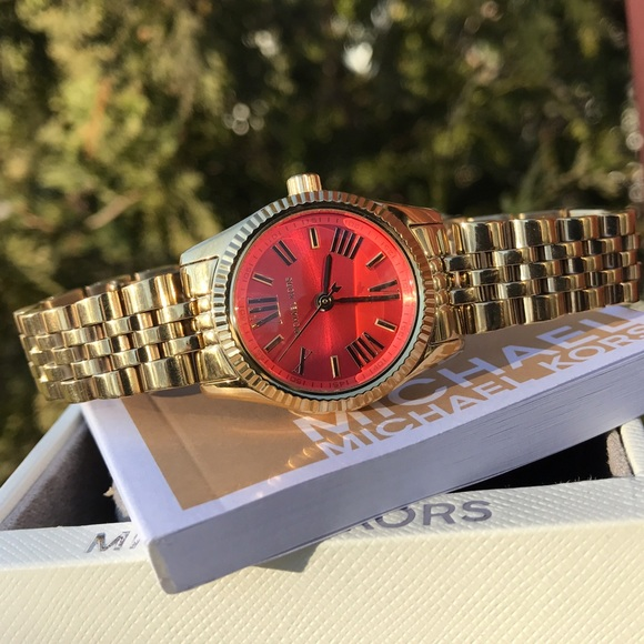 e55a599b5f4d New Michael Kors Lexington MK Glam watch MK3284