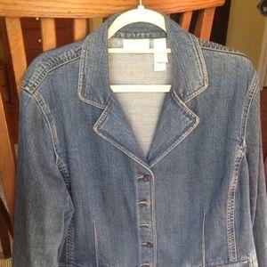 Liz Claiborne Denim Jacket - Women's Size 2x