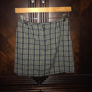 American Eagle Outfitters plaid skirt size 0