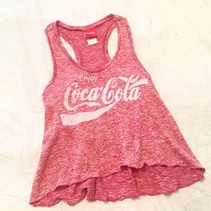 Urban Outfitters Tops - 🆕Coca Cola high low distressed tank top